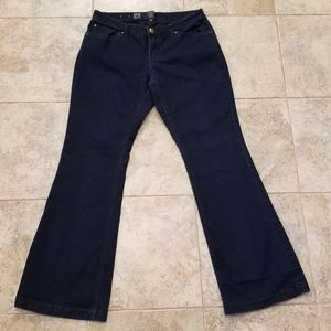 Mossimo Good Condition Stretchy Flare Blue Jeans